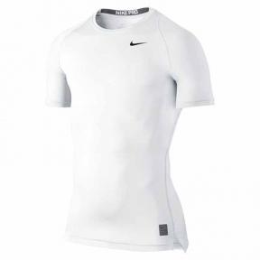 Компрессионная футболка Nike Pro Cool Compression Shirt (703094-100)
