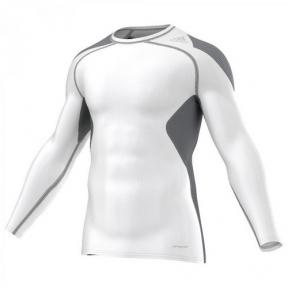 Компрессионная футболка Adidas TF CoolL LS (S19451)