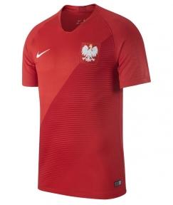 Футболка сборной Польши Чемпионат Мира 2018 красная