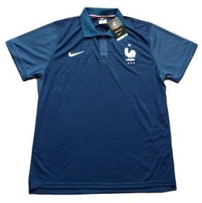 Футболка поло сборной Франции 2016/2017 синяя