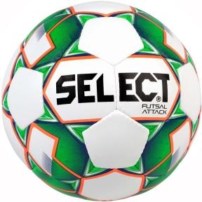 Футзальный мяч Select Futsal Attack New белый (107343)
