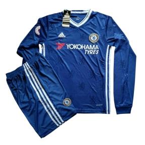Футбольная форма Челси 2016/2017 (Chelsea home 2016/2017) д/р