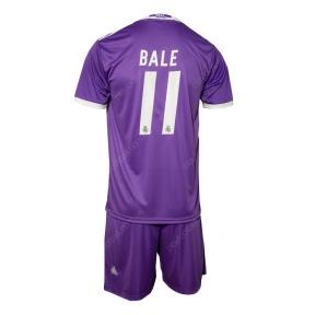 Детская футбольная форма Реал Мадрид 2016/2017 Бейл выездная (JR FCRM 2016/2017 BALE away)