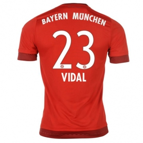Футболка Bayern Munchen stadium home 2015/16 Vidal 23