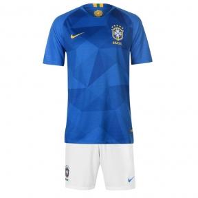 Футбольная форма сборной Бразилии Чемпионат Мира 2018 синяя