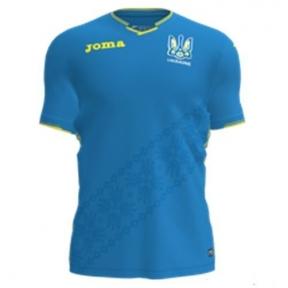 Футболка сборной Украины Joma игровая синяя - 2018 (FFU101012.18)