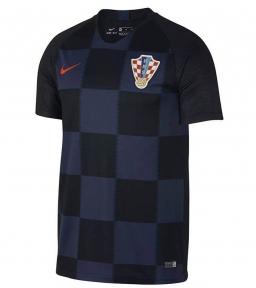 Футболка сборной Хорватии Чемпионат Мира 2018 черная