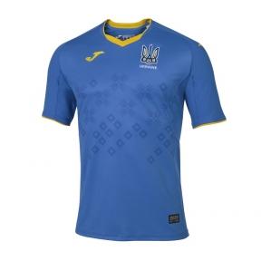 Футбольная форма сборной Украины Joma Euro 2021(игровая футболка синяя)