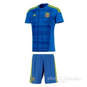 Футбольная форма сборной Украины Евро 2016 выезд replica (away Ukraine replica)