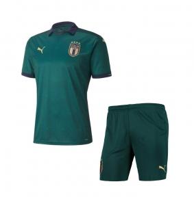 Футбольная форма сборной Италии на Евро 2020 дополнительная зеленая