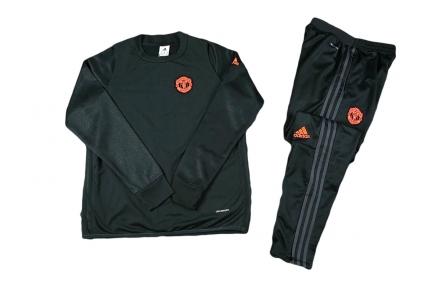 Тренировочный спортивный костюм Манчестер Юнайтед 2016/2017 черный