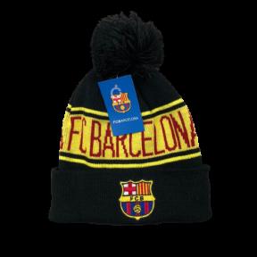 Шапка зимняя Барселона черная 2020