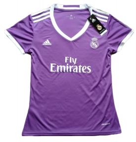 Футболка женская Реал Мадрид 2016/2017 фиолетовая