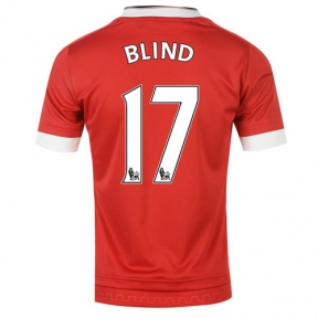 Футболка Manchester United stadium home 2015/16 Blind
