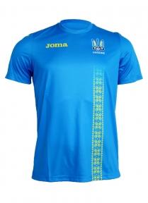 Футболка сборной Украины Joma (реплика) синяя