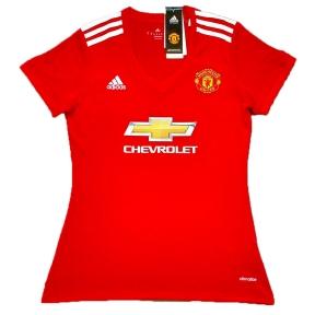 Футболка женская Манчестер Юнайтед 2017/2018 stadium домашняя