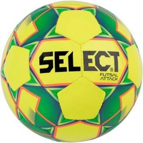Футзальный мяч Select Futsal Attack New желтый (107343)