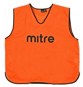 Футбольная манишка Mitre orange (Т21503OP1)