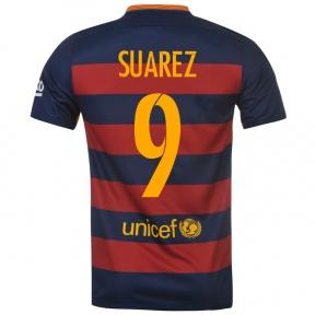 Футболка Barcelona home stadium 2015/16 SUAREZ 9