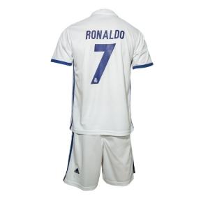 Детская футбольная форма Реал Роналдо дом 16/17(Ronaldo JR home 16/17)