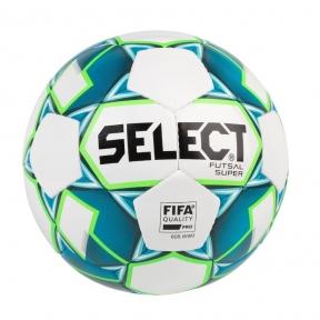 Футзальный мяч SELECT FUTSAL ATTACK NEW біл/зелений, grain (107343)
