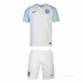 Футбольная форма сборной Англии Евро 2016 (home England)