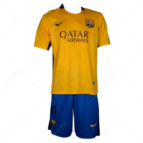 Футбольная форма Barcelona Away 2015/2016 replica (Barcelona aw 15/16 replica)