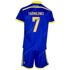 Футбольная форма сборная Украина 14/15 Ярмоленко выезд replica (Украина 14/15 Ярмоленко выезд)