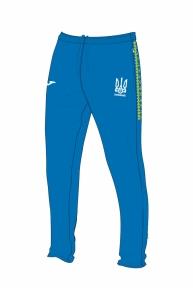 Штаны тренировочные сборной Украины Joma (FFU210011.17) Slim-Fit