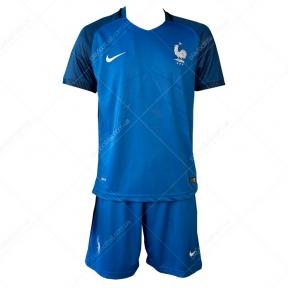 Футбольная форма сборной Франции Евро 2016 (home replica France)