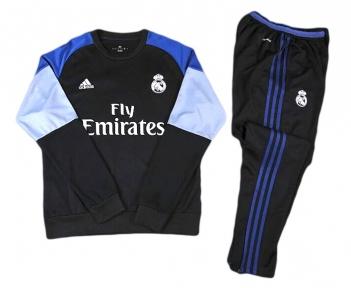 Тренировочный спортивный костюм Реал Мадрид 2016/2017 черный