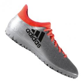 Сороконожки Adidas X 16.3 TF Silver Orange (S79575)