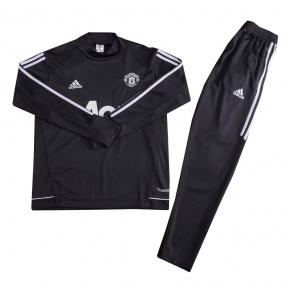 Тренировочный спортивный костюм Манчестер Юнайтед 2017/2018 черный