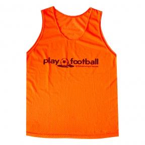 Футбольная манишка Playfootball (pl-orange)