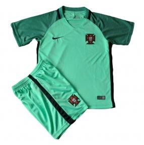 Детская футбольная форма Португалия зеленая