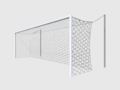 Футбольная сетка на ворота 7,5*2,5*2*2 (для растяжек,полипропилен)