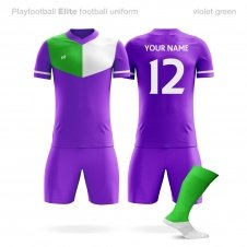 Футбольная форма Playfootball Elite violet-green