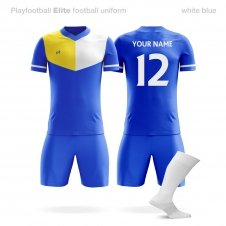 Футбольная форма Playfootball Elite blue-yellow