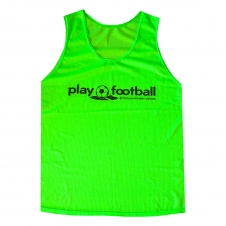 Футбольная манишка Playfootball (pl-green)