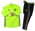 Тренировочный спортивный костюм Челси 2016/2017 салатовый